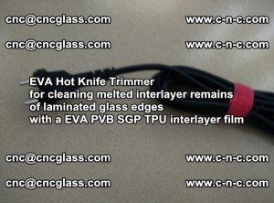 EVA HOT KNIFE TRIMMER for cleaning EVA PVB SGP TPU overflowed remains in laminated glass (16)