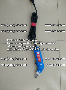 EVA HOT KNIFE TRIMMER for cleaning EVA PVB SGP TPU overflowed remains in laminated glass (2)